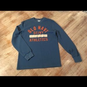 Old Navy Thermal Long Sleeve Shirt Size Medium